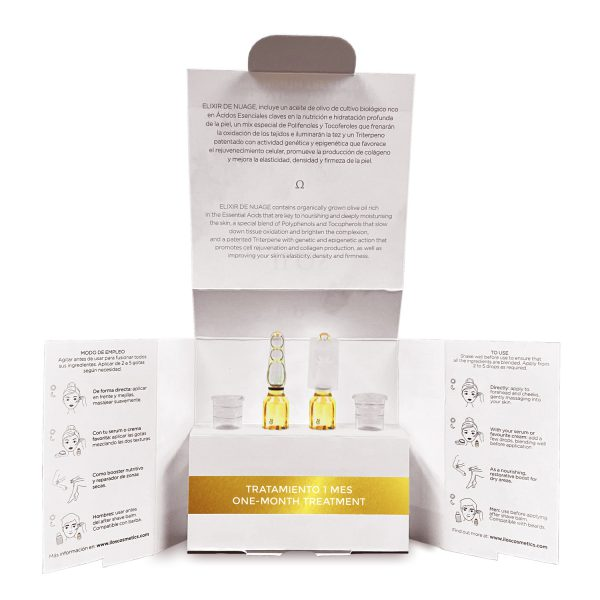 packaging Ilos Cosmetics